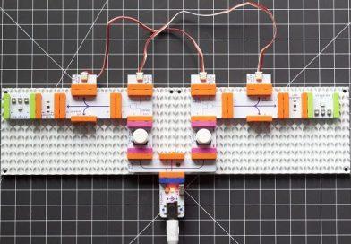 Красноярские школьники собрали электронный логический конструктор для изучения информатики